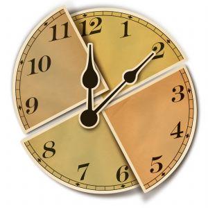 zegar zwichrowany