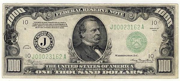 1000 $