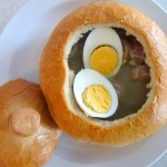 Zupa wielkanocna z kresów