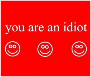 idiota
