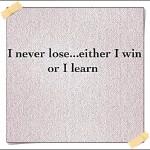 Lekcja życia, czyli czasem się uczysz