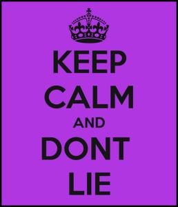 kto kłamie