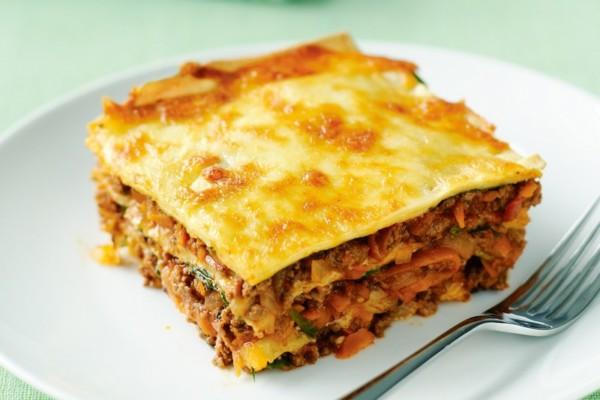 Lasagne z cukinią i beszamelem