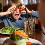 Dzieci zakałą restauracji