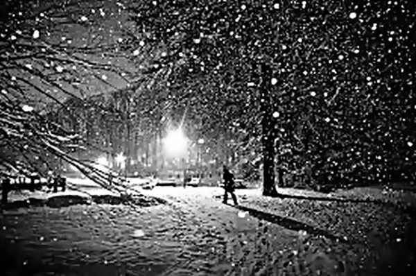 Niedoczytane - śnieg topnieje