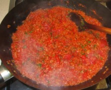 Bulgur z pomidorami