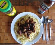 Gyros i spaghetti fusion