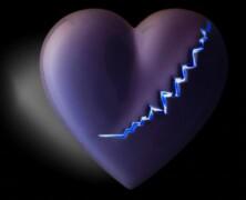 Porcelanki w serca symbol układają