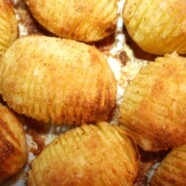 Ziemniaki Hasselback – Hasselbackspotatis